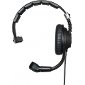 Single-ear headset with microphone