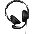Double-ear headset with microphone