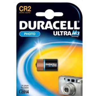 Batteria CR2 Duracell Ultra M3 Photo