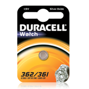 Duracell 362 SR58 Silver Oxide Battery