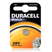 Batteria 394 SR45 Duracell Watch