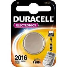Batteria 2016 Litio 3V Duracell Electronics
