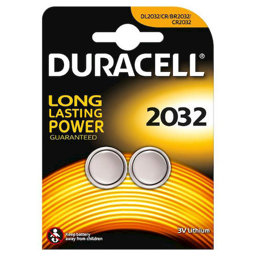 2 Batterie 2032 Litio 3V Duracell Electronics