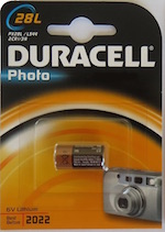 Batteria PX 28L Duracell Photo