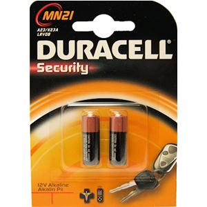 2 Batterie MN21 Duracell Security