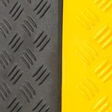 anti-slittamento nero e giallo di protezione
